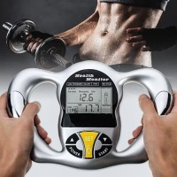 Handheld Digital Body Fat Health Tester Monitor Analyzer w/ BMI Meter