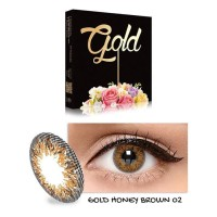 Softlens ICE Gold - Hazel / Honey brown By X2 Exoticon