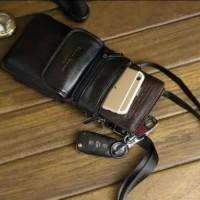 Tas Selempang Mini Cheershoul Tempat Handphone Kulit Asli Tas Tab