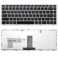 Keyboard LENOVO IdeaPad 300-14IBR 300-14ISK - silver original