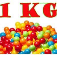 Bola Plastik Mainan Anak untuk Mandi Bola, Kolam/Tenda Isi 50 Pcs