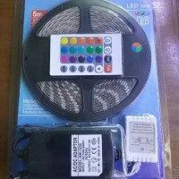 Led Strip 5050 RGB Lampu LES Strip Warna Warni