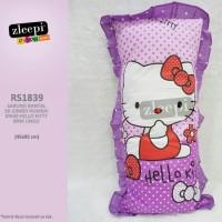 Sarung bantal cinta rumbai Hello Kitty