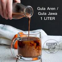 Gula Aren Cair / Gula Jawa Cair / Brown Sugar Syrup 1 Liter