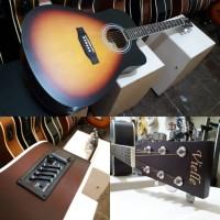 gitar akustik elektrik viele original bukan yamaha f310