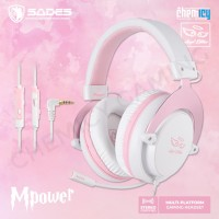 Sades M-Power / MPower Angel Edition Multi Platform Gaming Headset