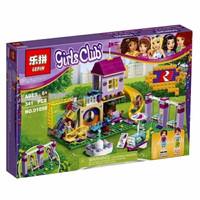 Mainan Anak Edukasi Edukatif Lego Princess Friends Rumah Taman Main P