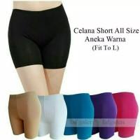 Short Pants celana legging wanita pendek