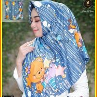 Jilbab motif kartun design 09