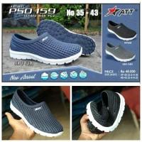 Sepatu Karet ATT PSO 159 Sepatu Slip On Sepatu Jelly Lentur Ringan