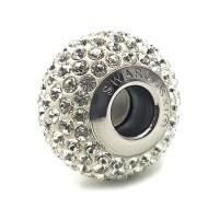 Perhiasan Liontin Kalung Charm Swarovski - Pave 101 Crystal
