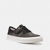 Sneakers Branded Original Coach Sneaker Grey Camo Print
