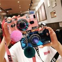 Case IMD Camera w Hairball Xiaomi Redmi Note 7 4 4X 5 5 6 Pro 5A Prime