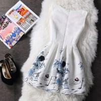 Best casual sleevelees mini dress - ,
