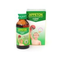 WillsenShop Appeton Multivitamin LYSINE Syrup 60ml