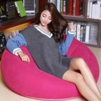 New Thicken Air Portable Creative Fast Inflatable Sofa Cushion