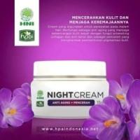 cream Malam HNI HPAI | Skincare Halal