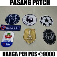 HOT SALE PASANG PATCH DI JERSEY UCL STARBALL RESPECT DLL GRADE ORI