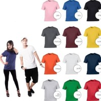 HOT SALE KAOS POLOS COTTON COMBED 30S Terjamin