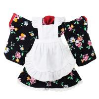 Top Brand BBGirl Kimono 30cm 35cm BJD Doll Dress Party Fashion