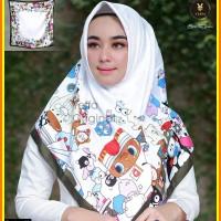 Jilbab motif kartun design 02