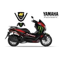 DECAL STRIPING MOTOR YAMAHA NMAX ROSSI 46