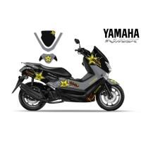 DECAL STICKER MOTOR YAMAHA NMAX ROCKSTAR
