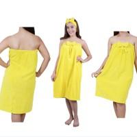 Microfiber Dress Towel-Flower tie-XL/Yellow/80x116 DPIXL-195003