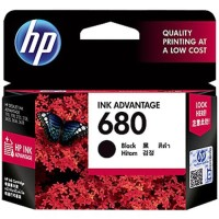 HP Ink Cartridge 680 Colour / Black Tinta HP 680 Warna / Hitam Ori
