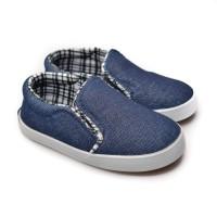 Sepatu anak balita K01 imperial blue FirstLight.id