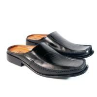 sepatu pantofel slop asli kulit ( tipe : 530 )