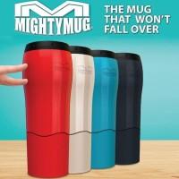 Mighty Mug Tumbler Botol Minum Termos Anti Tumpah Senggol (H331)