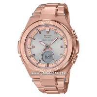 Casio Baby-G G-MS Series MSG-S200DG-4ADR Digital Analog Dial Rose Gold