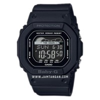 Casio Baby-G G-Lide BLX-560-1DR Digital Dial Black Resin Band