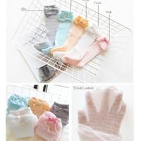 Kaos Kaki Bayi Panjang Motif / Kaos kaki Anak Jaring / Legging bayi