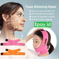 Face Slimming Mask Double Chin V Shape Facial Sabuk Pengencang Wajah