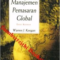 Buku Manajemen Pemasaran Global Edisi 6 Jilid 1