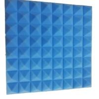 busa peredam suara piramid warna biru