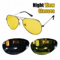 Night View Glasses Kacamata Malam Anti Silau