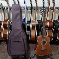 gigbag lbh dr softcase tas gitar akustik 3/4 3 per 4 yamaha cowboy