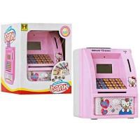 Mainan Edukasi Anak Celengan Atm Mini Happy Bank Bahasa Indonesia