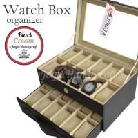 - Kotak Jam Tangan Isi 24 All Color / Tempat Jam / Watch Box
