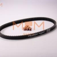 Daytona Belt & Roller Set Mio J,Fino Fi Mio GT,Xride Original