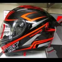 Spoiler Smoke Helm Motor Kyt Vendetta Model Gpr Racing Look