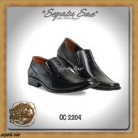 C5 sepatu kerja pdh dinas kantor formal casual kulit pdl pantofel