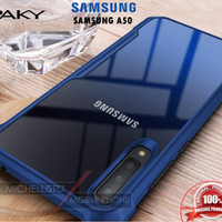 Case Samsung A50 2019 iPAKY Armor Bumper Transparent Clear Original XD