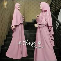 Baju Gamis Wanita Syari Muslimah Dewasa Jubah Maxi Dress Terbaru