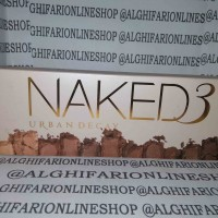 Naked 3 ~ Urban Decay Eyeshadow Palette ~ Naked 3D ~ Rose ~ Gold Palet