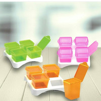 Baby safe multi food container