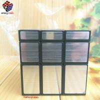 Rubik Mirror Magic Cubes SILVER KEMASAN PLASTIK